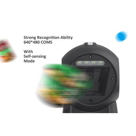 Stacjonarny skaner kodów kreskowych QR 2D 1D skanowanie ciągłe automatyczne