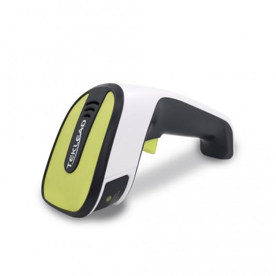 Bezprzewodowy 2.4G i Bluetooth skaner kodów kreskowych 2D QR Aztec CCD