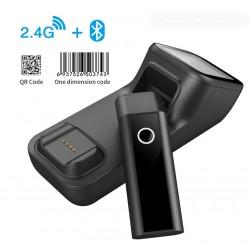 Czytnik kodów kreskowych 2D Qr Bluetooth USB 2.4 Wifi skan mini skanerem lub ekranem 2
