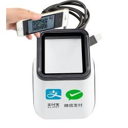 Stacjonarny czytnik kodów QR 1D i 2D do płatności mobilnych skanowanie ciągłe lub po zbliżeniu kodu