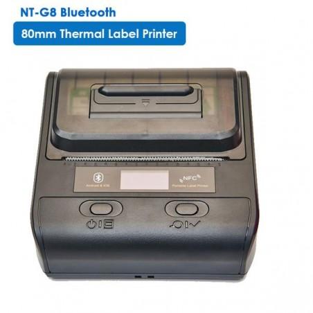 Mobilna Bluetooth drukarka termiczna etykiet i kwitów 2 w 1 80MM
