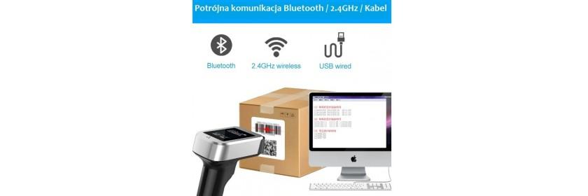 2.4G + kabel + Bluetooth (3 w 1)